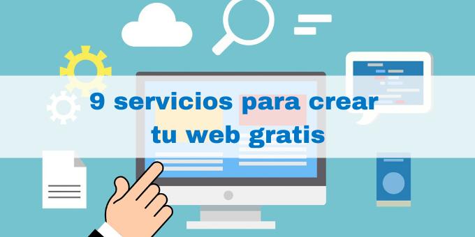 crea tu web gratis con estos servicios