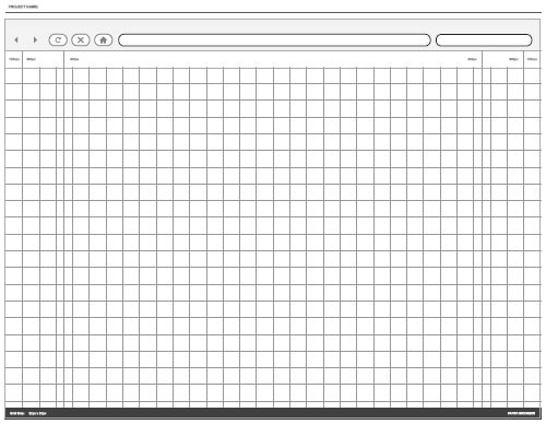Wireframes con paper browser