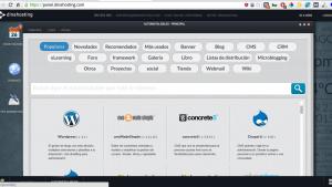 Instalador apps dinahosting
