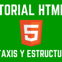 Estructura y sintaxis en HTML5